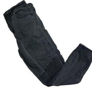 Pistols Audrey Moro Detail Skinny Pant Black Jean